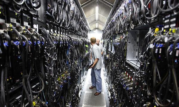 サーバーデータセンターの画像